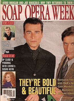 Soap Opera Weekly October 5, 1993
