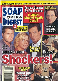 Soap Opera Digest - October 5, 1999