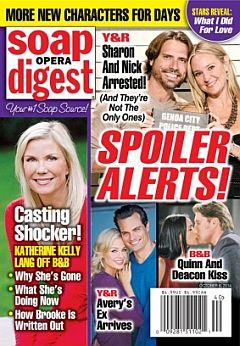 Soap Opera Digest Oct. 6, 2014