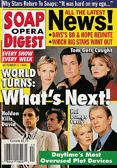 Soap Opera Digest - October 6, 1998