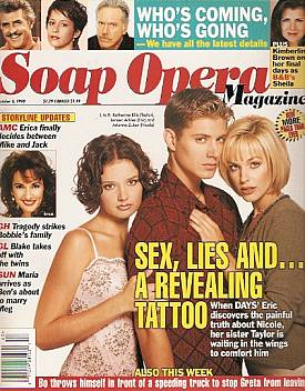 Soap Opera Magazine October 6, 1998
