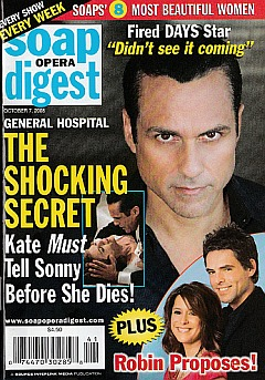 Soap Opera Digest October 7, 2008
