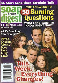 Soap Opera Digest Oct. 8, 2002