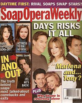 Soap Opera Weekly October 8, 2002
