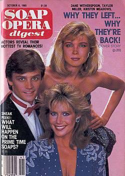 October 8, 1985 Soap Opera Digest