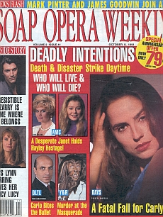 Soap Opera Weekly October 8, 1991