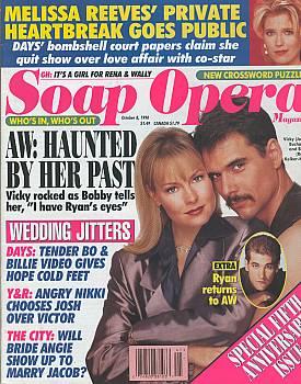 Soap Opera Magazine October 8, 1996