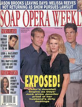 Soap Opera Weekly October 8, 1996