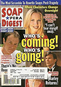 Soap Opera Digest October 9, 2001
