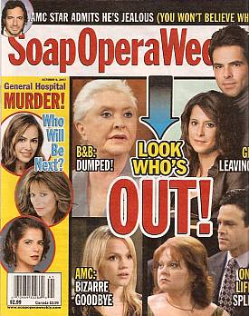 Soap Opera Weekly October 9, 2007