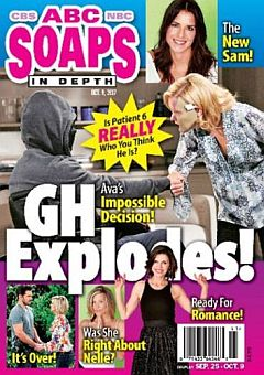 October 9, 2017 issue of ABC Soaps In Depth soap opera magazine