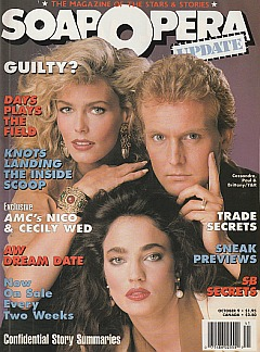 Soap Opera Update - October 9, 1989