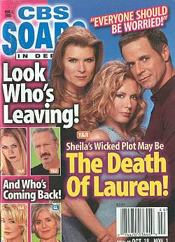 CBS Soaps In Depth November 1, 2005