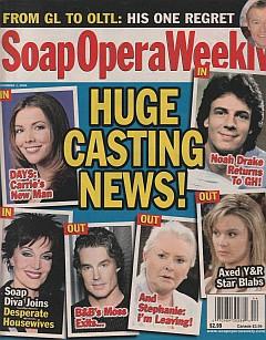 Soap Opera Weekly November 1, 2005