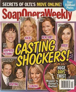 Soap Opera Weekly - November 1, 2011