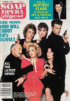 Soap Opera Digest November 1, 1988