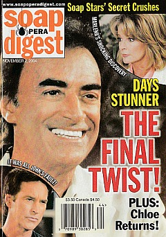 Soap Opera Digest Nov. 2, 2004