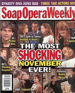 Soap Opera Weekly November 2, 2004