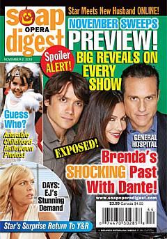Soap Opera Digest November 2, 2010