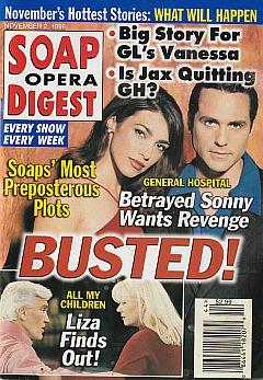 Soap Opera Digest - November 2, 1999