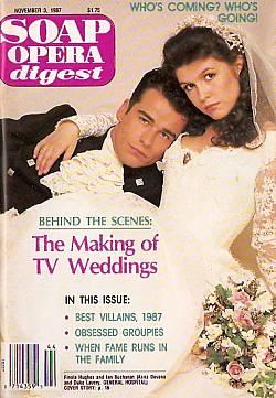 Soap Opera Digest November 3, 1987