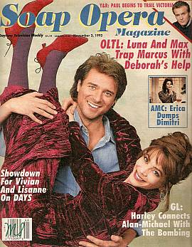 Soap Opera Magazine Nov. 3, 1992