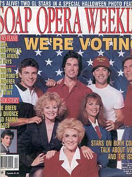 Soap Opera Weekly November 3, 1992