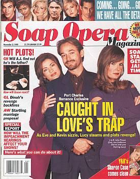 Soap Opera Magazine November 3, 1998
