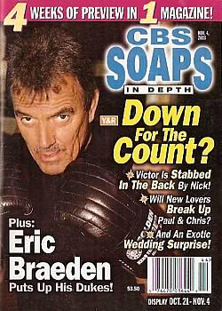 CBS Soaps In Depth November 4, 2003