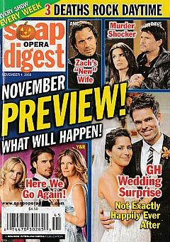 Soap Opera Digest November 4, 2008