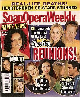 Soap Opera Weekly Nov. 4, 2008