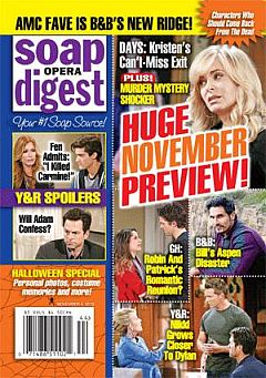 Soap Opera Digest Nov. 4, 2013