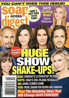 Soap Opera Digest November 4, 2019