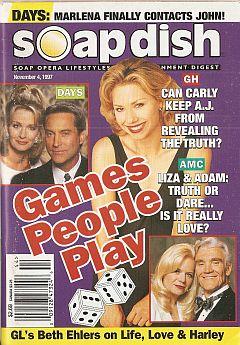 Soap Dish magazine November 4, 1997