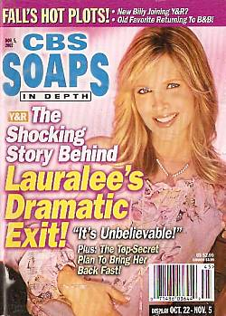 CBS Soaps In Depth November 5, 2002
