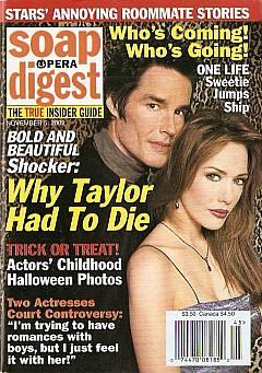 Soap Opera Digest Nov. 5, 2002