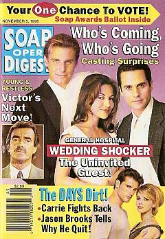Soap Opera Digest - November 5, 1996