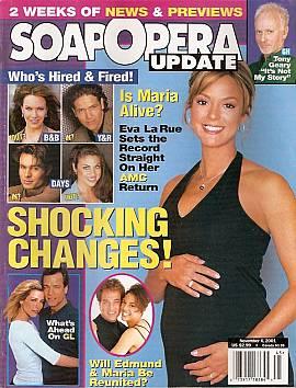 Soap Opera Update November 6, 2001