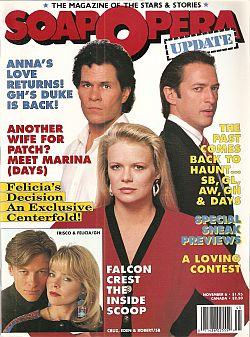 Soap Opera Update - November 6, 1989
