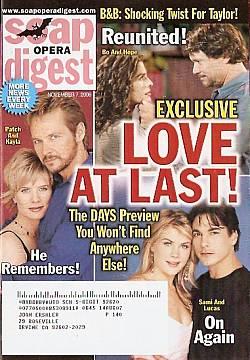 Soap Opera Digest Nov. 7, 2006