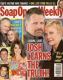Soap Opera Weekly November 7, 2006