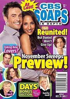 CBS Soaps In Depth November 7, 2011