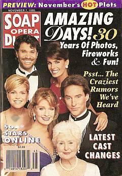 Soap Opera Digest - November 7, 1995