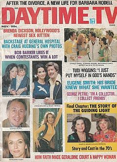 Daytime TV - November 1974