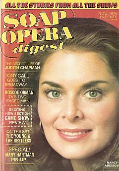 November 1976 issue of Soap Opera Digest