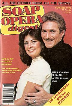 November 1978 issue of Soap Opera Digest