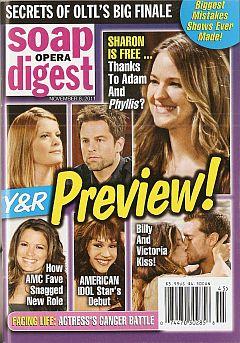Soap Opera Digest November 8, 2011