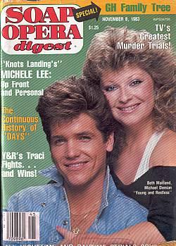 November 8, 1983 Soap Opera Digest