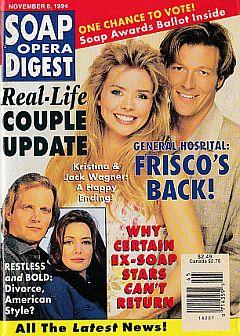 Soap Opera Digest - November 8, 1994