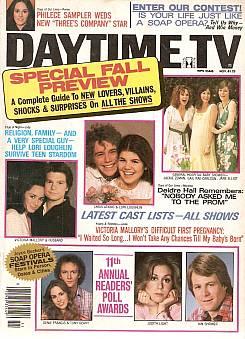 Daytime TV - November 1981
